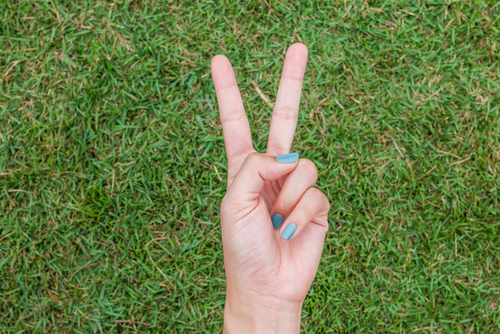 Hand - peace sign