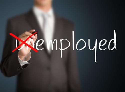Unemployed to employed!