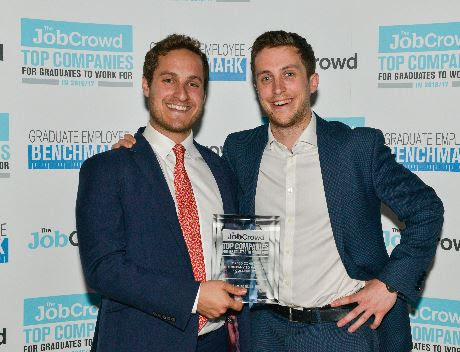 Instant Impact at The Job Crowd Awards